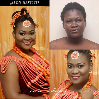 LoveweddingsNG Before and After - Neris Makeover
