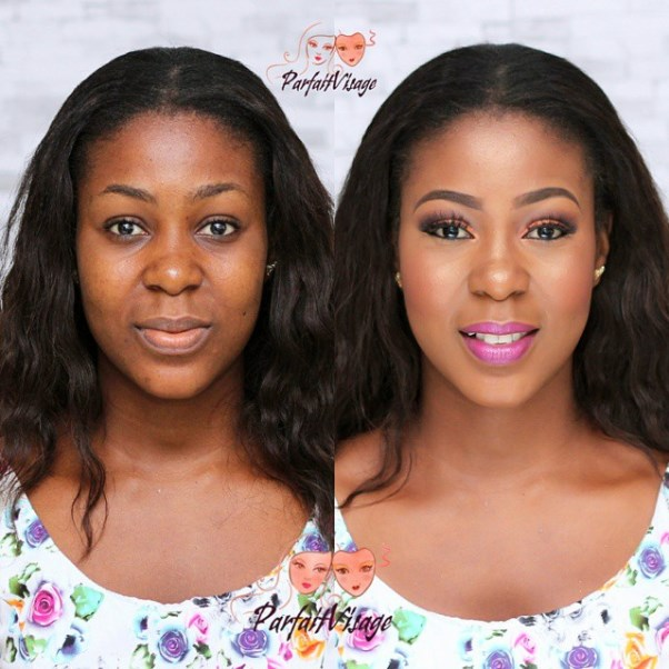LoveweddingsNG Before and After - Parfait Visage
