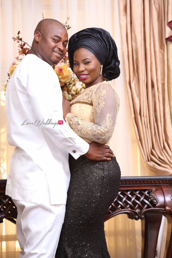 LoveweddingsNG Bilqis & Olajide Prewedding Maître D' Events2