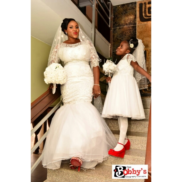 LoveweddingsNG Bride and Little Bride - Dee Bobbys Photography Studios