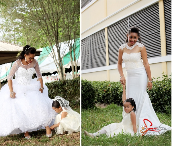 LoveweddingsNG Bride and Little Bride - Spectra Studios