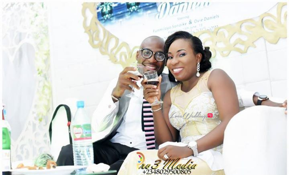 LoveweddingsNG presents Funmi & Ovie's Beautiful Wedding