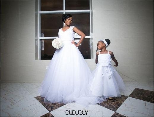 LoveweddingsNG Little Ones Bridal Train Dudu Guy