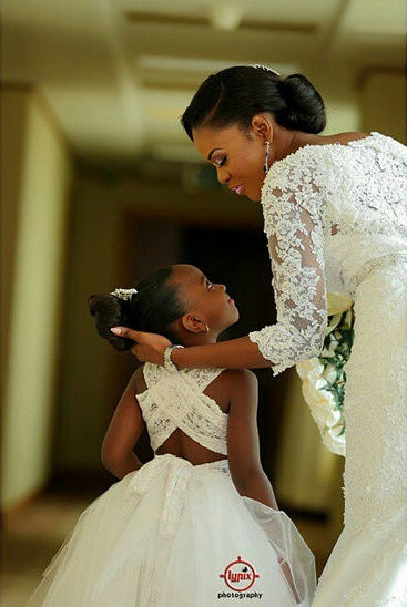 LoveweddingsNG Little Ones Bridal Train Lypic Photography
