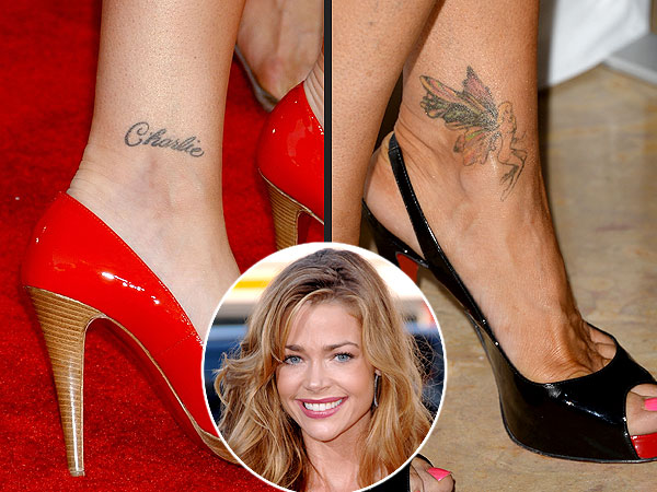 Loveweddingsng Tattoo - Charlie Sheen Denise Richards