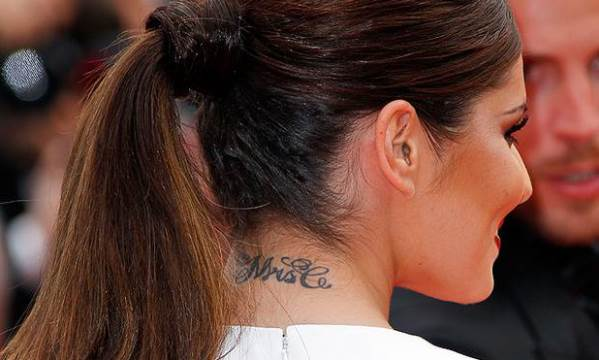 Loveweddingsng Tattoo - Cheryl Cole Mrs C feat