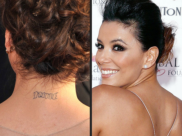 Loveweddingsng Tattoo - Eva Longoria
