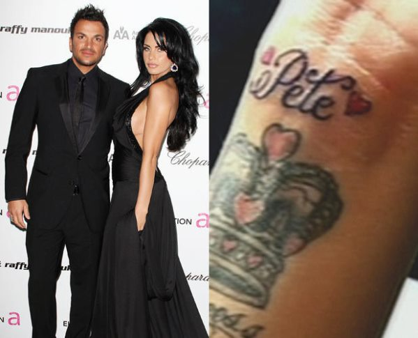 Loveweddingsng Tattoo - Katie Price Peter Andre
