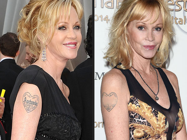 Loveweddingsng Tattoo - Melanie Griffith