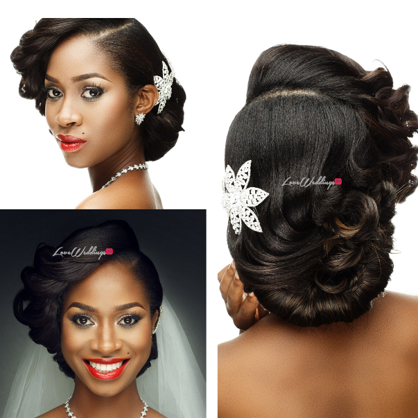 Nigerian Bridal Hair Inspiration Uniqueberry Hair - LoveweddingsNG