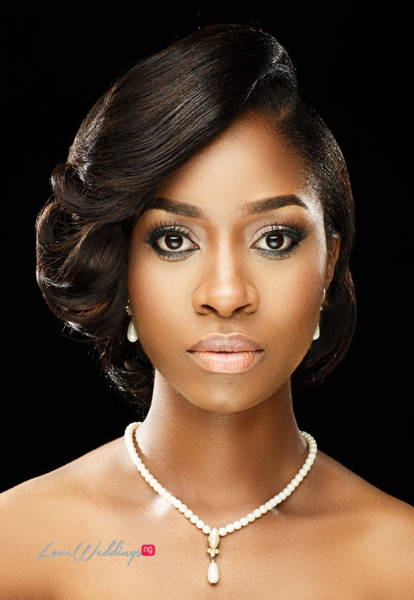 Nigerian Bridal Hair Inspiration Uniqueberry Hair - LoveweddingsNG10