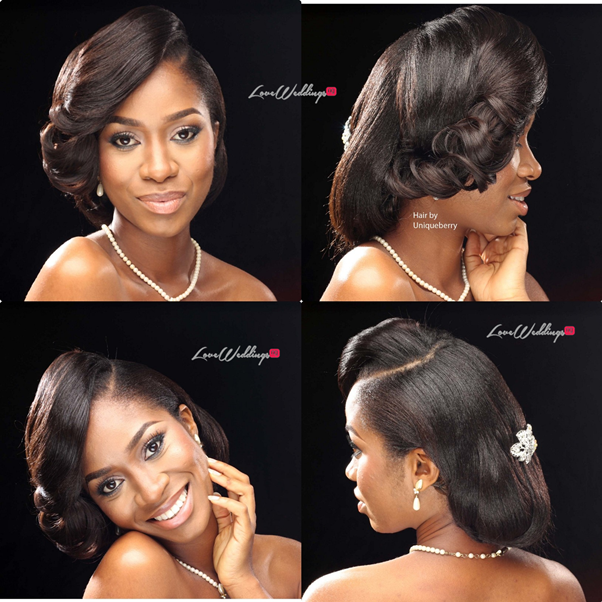 Nigerian Bridal Hair Inspiration Uniqueberry Hair - LoveweddingsNG11