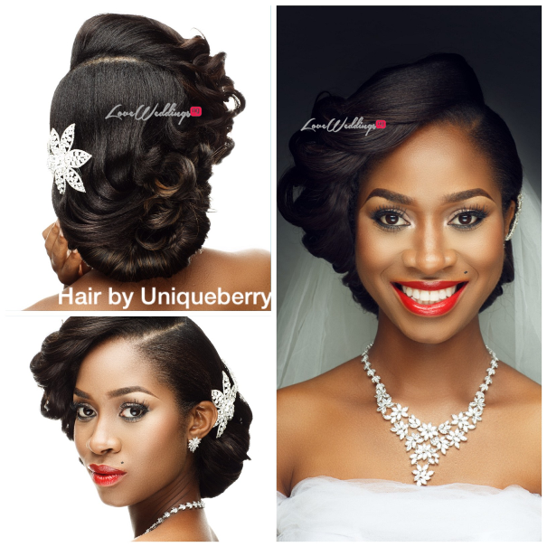 Nigerian Bridal Hair Inspiration Uniqueberry Hair - LoveweddingsNG5
