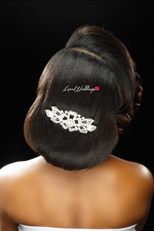 Nigerian Bridal Hair Inspiration Uniqueberry Hair - LoveweddingsNG8