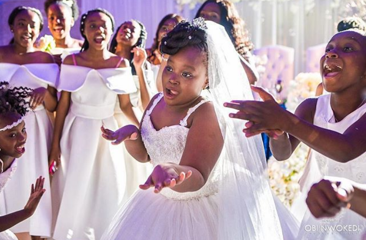 Little Ones on Your Bridal Train