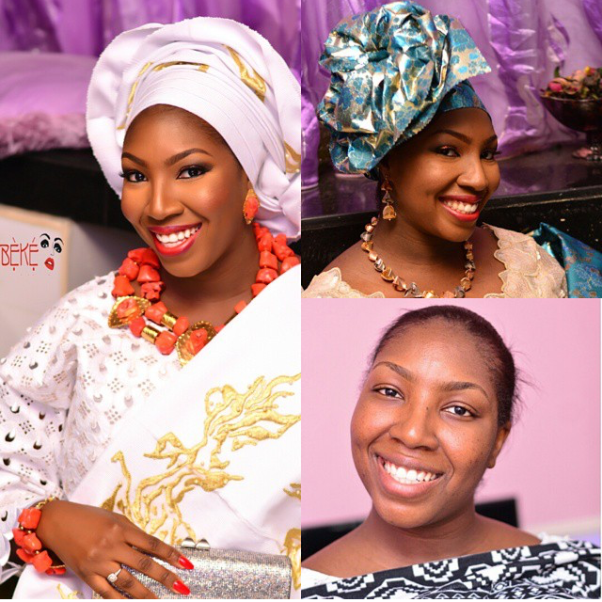 LoveweddingsNG Before and After - Abeke Makeovers