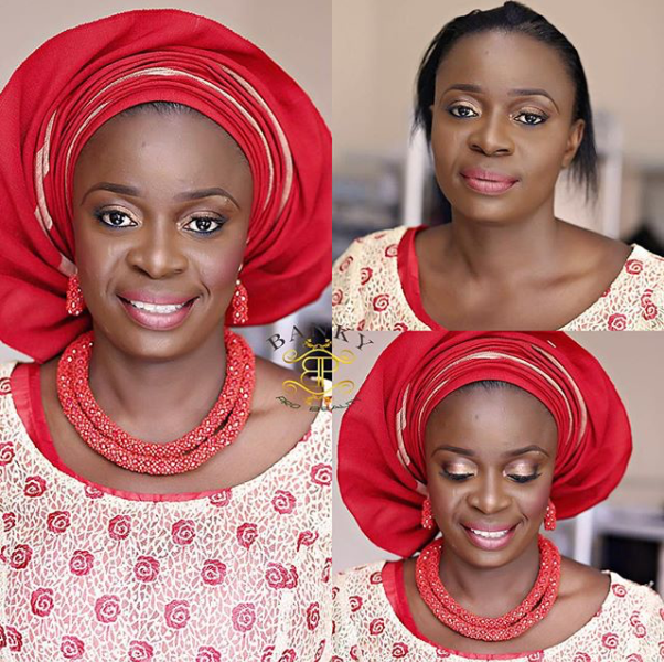 LoveweddingsNG Before and After - Bankypro Beauty