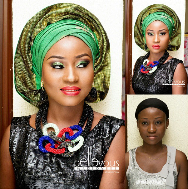 LoveweddingsNG Before and After - Bellevous Makeovers