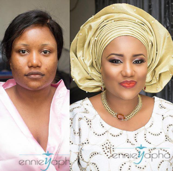 LoveweddingsNG Before and After - Ennieyapha