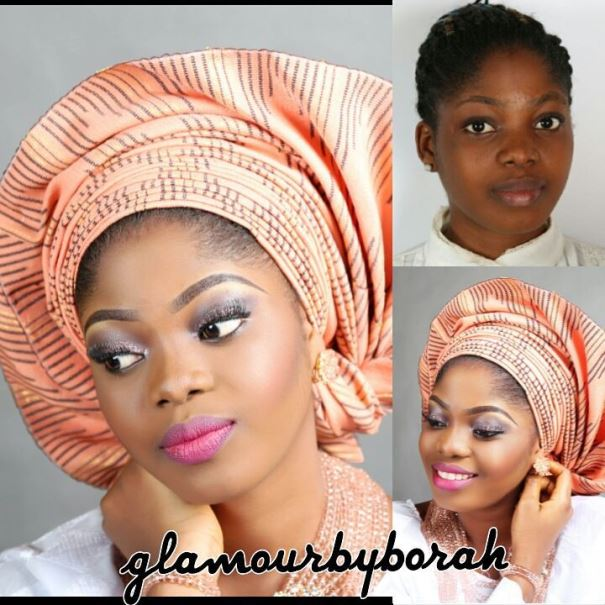 LoveweddingsNG Before and After - Glamour by Borah
