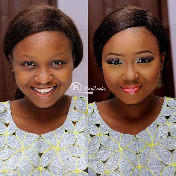 LoveweddingsNG Before and After - IPosh Looks