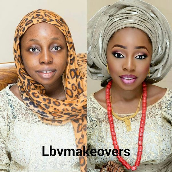 LoveweddingsNG Before and After - LBV Makeovers