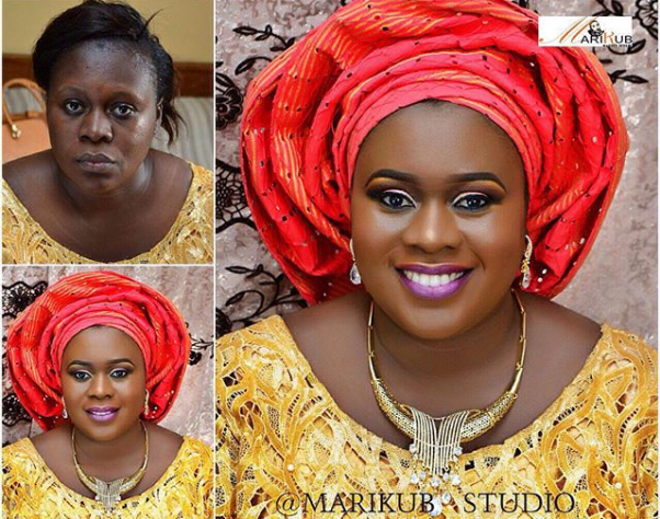 LoveweddingsNG Before and After - Marikub Studios