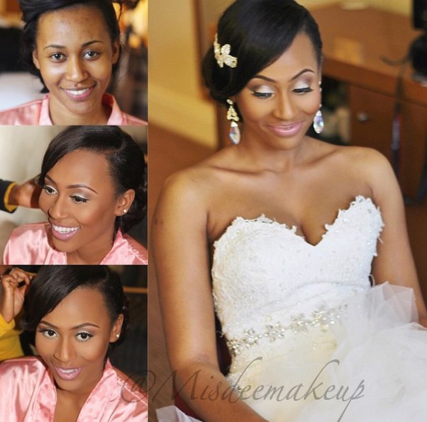 LoveweddingsNG Before and After Misdee Makeup4