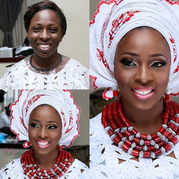 LoveweddingsNG Before and After - Zainab Azeez