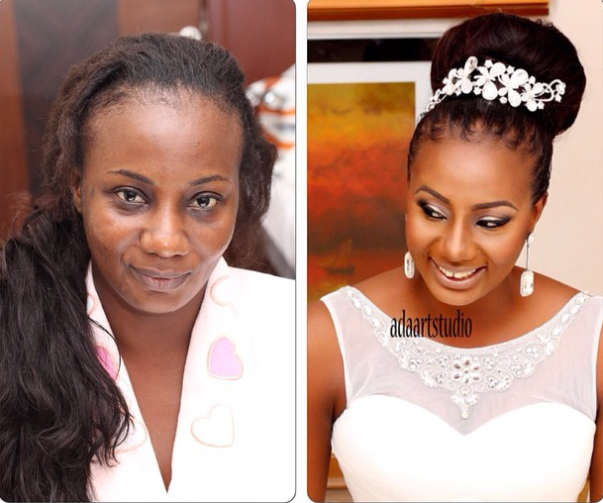 LoveweddingsNG Before meets After - Ada Art Studio