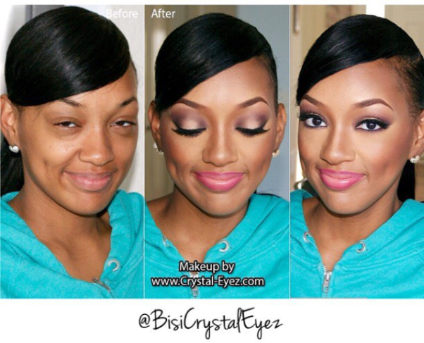 LoveweddingsNG Before meets After - Crystal Eyez