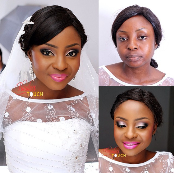 LoveweddingsNG Before meets After - Flawless Touch Makeover