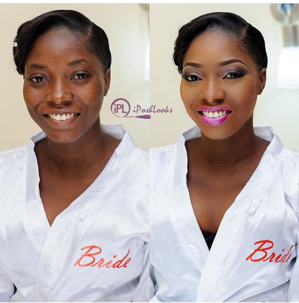 LoveweddingsNG Before meets After - IPosh Looks