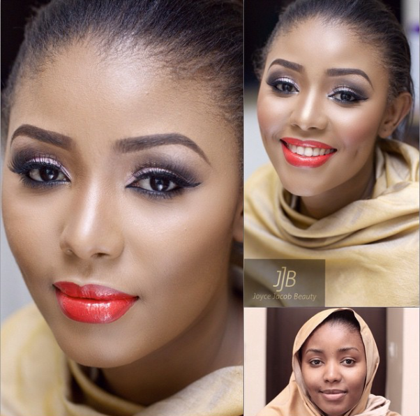 LoveweddingsNG Before meets After - Joyce Jacob Beauty1