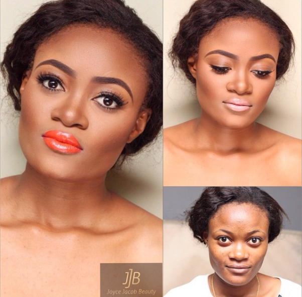 LoveweddingsNG Before meets After - Joyce Jacob Beauty3