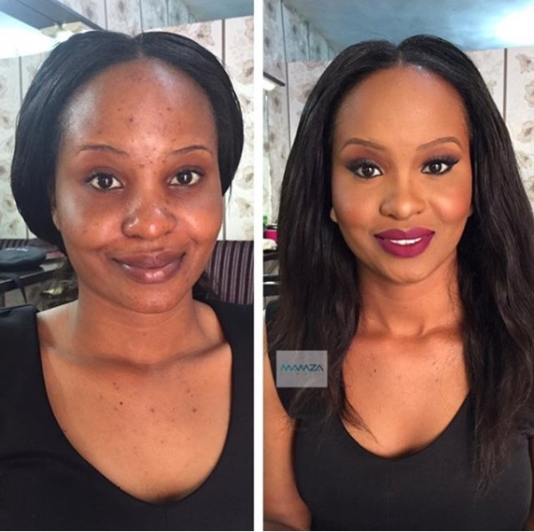 LoveweddingsNG Before meets After - Mamza Beauty