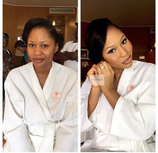 LoveweddingsNG Before meets After - Mamza Beauty1