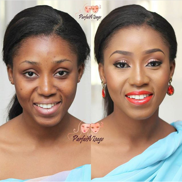 LoveweddingsNG Before meets After - Parfait Visage