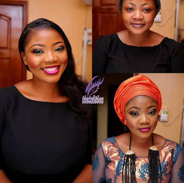 LoveweddingsNG Before meets After - Tints & Ties Makeup