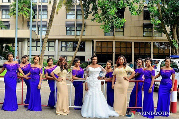 LoveweddingsNG Bride and Bridesmaids Inspiration