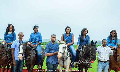 Chinazor & Afam's Pre wedding Shoot with their Bridal Party | Lemmy Vedutti Photography