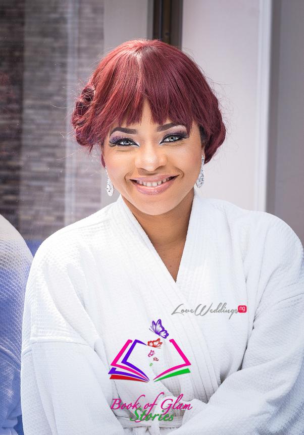 LoveweddingsNG Nigerian Bridal Makeup Inspiration - Book of Glam Stories