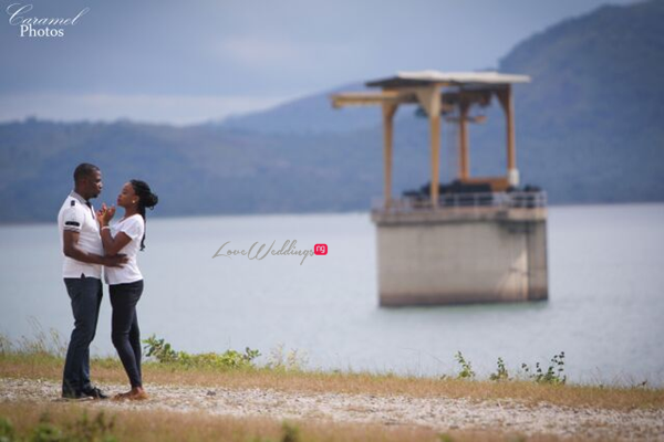 LoveweddingsNG Nigerian Pre Wedding Shoot Location - Abuja Dam Caramel Photos