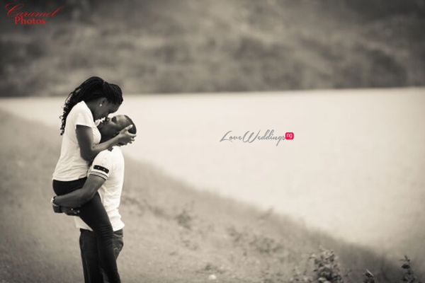 LoveweddingsNG Nigerian Pre Wedding Shoot Location - Abuja Dam Caramel Photos1