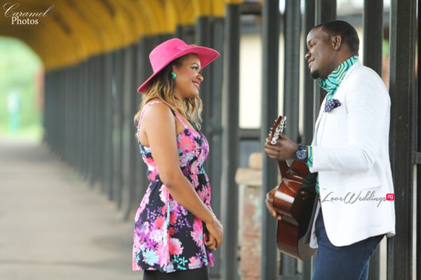 LoveweddingsNG Nigerian Pre Wedding Shoot Location - Coal City rail Caramel Photos2