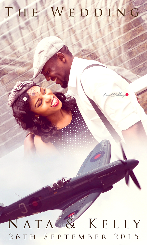 LoveweddingsNG Nigerian Save The Date Inspiration