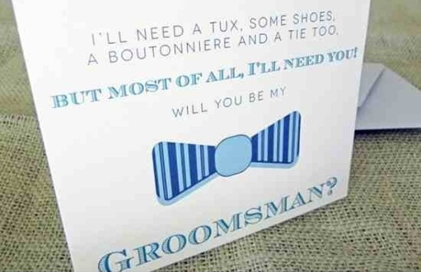 LoveweddingsNG Will You Be My Groomsman