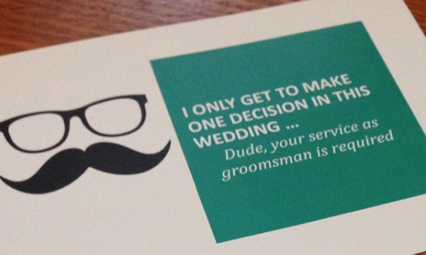 Will You Be My Groomsman?