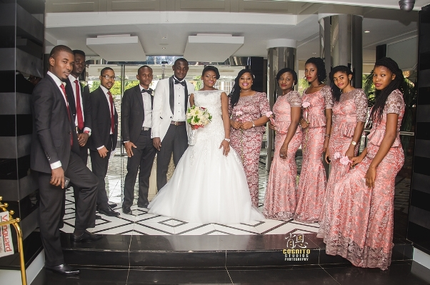 My Big Nigerian Wedding Blessing & George Abuja Wedding - LoveweddingsNG25