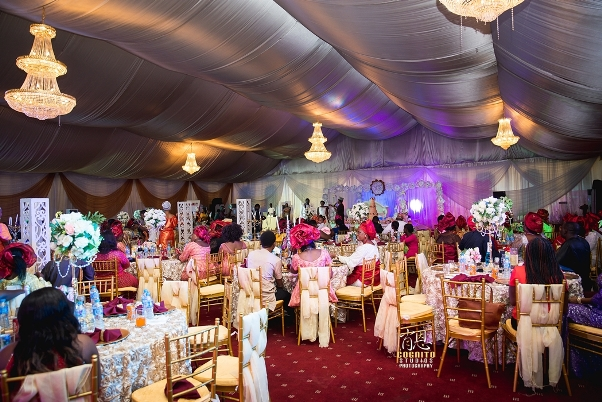 My Big Nigerian Wedding Blessing & George Abuja Wedding - LoveweddingsNG34
